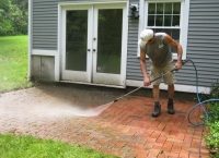 brick patio power washing